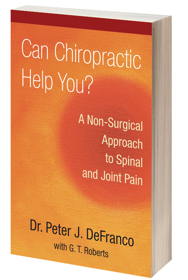 Non Surgical Spinal Decompression Book Dr. Peter DeFranco wrote